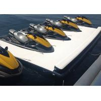 Floating Inflatable Yacht Slides Boat Extension Dock With 3 Years Warranty Manufactures