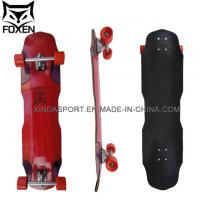 Customize Canadian Red Plain Skateboard Decks 26.25*7.5 Inch Manufactures