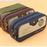 China Hot Selling Double Zipper Pencil Case on sale