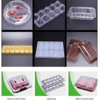 custom clear blister plastic high quality food packaging trays for Cherry Tomato