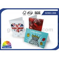 Custom Festival Greeting Cards Printing Service for Birthday Cards with Art Paper Manufactures