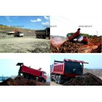 HOWO 6 X 4 Heavy Duty Dump Truck , Single Row Cab LHD Tipper Truck