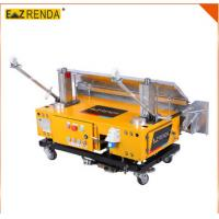 Construction Equipment Wall Concrete Plastering Machine High Efficiency 1M length Manufactures