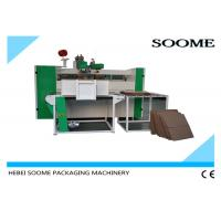 Double Servo Motors Carton Box Stitching Machine Manual Feeding Nailing To Hold Heavy Products Manufactures