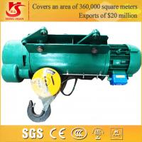 Single and double speed general used lifting hoist Manufactures