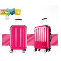 China Pull Rod Box ABS + PC Hard 24 inch 28 inch Trolley Luggage Bags in Rose on sale