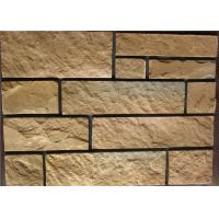 Rectangle Exterior Faux Stone , Stone Siding Panels For Homes Manufactures