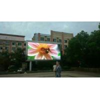 Highly Stable Distributed Scanning P16 Outdoor Scrolling Led Sign Advertising