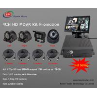Realtime GPS 3G/4G WiFI Mobile Recorder Kit With Monitor for CMSV6 Remote View Manufactures
