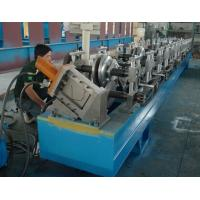 Steel / Aluminum / Copper Mobile Seamless Gutter Machine For Rainwater Gutter Profiles Manufactures