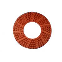 11 Inches Diamond Granite Floor Polishing Pads High Gloss Finishes Hook / Loop Connection