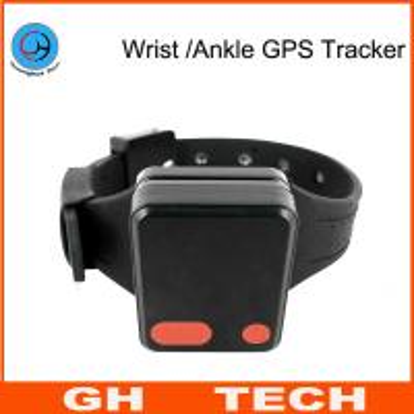 Quality Wrist / Ankle Mini GPS Tracker Wristband Cut-Off Alarm For Alzheimer Prisoner Parolee Tracking for sale