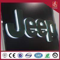 China Customized 3D LED backlit acrylic letters sign on sale