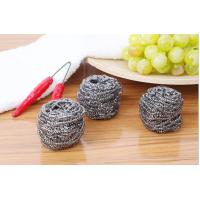 China AISI 410 / 430 Stainless Steel Scouring Ball Durable For Home And Kitchen on sale