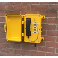 Analog / VoIP Industrial Weatherproof Telephone With Wall / Pillar Mounting Manufactures