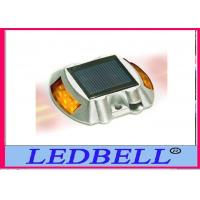 2.5v 100MA Yellow Led Flashing Solar Road Stud For High dangerous fields Manufactures