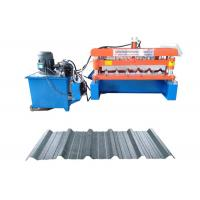 IBR Trapezoidal Profile Metal Tile Roofing Sheet Roll Forming Making Machine Manufactures