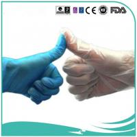 Powdered Disposable vinyl gloves PVC gloves4.0g,4.5g,5.0g,AM, EM Red,white,blue,green,yellow,clear Manufactures