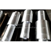 Stainless Steel Hot Forged Step Shaft Step Axis Heat Treatment Machined Manufactures