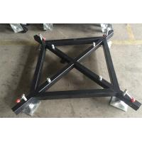 Steel Material Lighting Truss Accessories Black Truss Basement For Outdoor Activity Manufactures