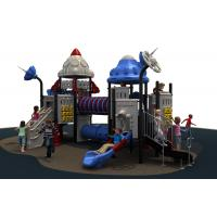 Outdoor Playground Plastic Playground Material play equipment used for preschool Manufactures