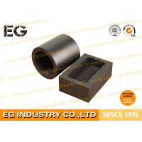Custom Size Machined Large Graphite Crucible , Chemical Stability 4 KG Graphite Crucible Manufactures