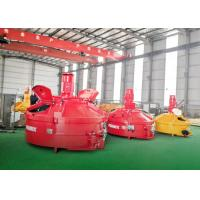High Efficiency Planetary Concrete Mixer Quick Mixing 3000L Input Capacity Orange Color Manufactures