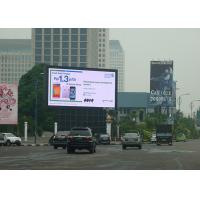 Quality Anti - Interference P6.25 Led Video Billboards , Led Outdoor Board IP65 Rating for sale