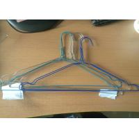Recyclable Clothes Wire Hangers High Temperature Resistant Non Slip Hangers