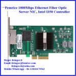 10/100/1000Mbps 2 Ports RJ-45 Connector Gigabit Ethernet Server NIC, Intel I350 Chipset Manufactures