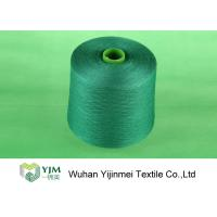 China Dyed Polyester Yarn Semi Finished Yarn Material For Manufacturing Sewing Thread on sale
