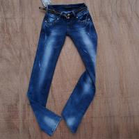 womens elegant denim long pants,high qualityfashion design whole sell by jeans manufactory Manufactures