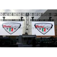 China 8mm Pixel Full Color Outdoor LED Screen Rental Epistar For Open Stage Church , CE / UL on sale
