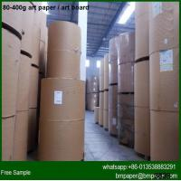 Quality Promotional price two side coated 157gsm Art Paper Manufacturers in China for sale