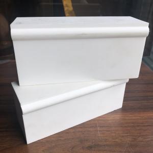 China refractory bricks supplier white corundum brick with good quality Manufactures
