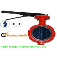 Cast Iron Pneumatic Industrial Butterfly Valves With Large Diameter 2 - 12 Manufactures
