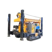 FY200 200m CRAWLER HYDRACULIC WATER WELL DRILLING RIG  machine portable water well drilling rigs deep drill rig truck Manufactures