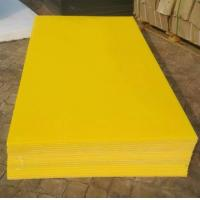 3-25mm thick colorful smooth surface flame retardant single color HDPE sheet