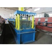 China Aluminium Steel Rolling Door Roll Forming Machine PLC Control System on sale