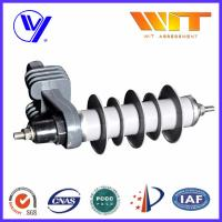 10KA Transformer Substation Zinc Oxide Lightning Arrester With Steel Bracket Manufactures