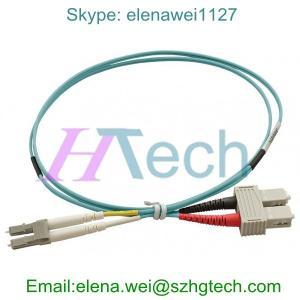 China 2 Meter Duplex SC/LC Fiber Optic Cable Assemblies on sale