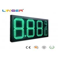 Buy cheap Factory Directly Sale Led Gas Price Sign in Green Color with 12inch Digits for Double Sides from wholesalers