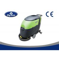 Walk Behind Compact Floor Scrubber Dryer Machine Mechanical Collision Protection Manufactures