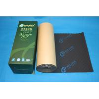 Black Wavy Foam Car Soundproof Material Self - Adhesive For Noise Absorption Manufactures