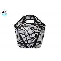 Colorful Waterproof Personalized Neoprene Lunch Tote Eco - Friendly Bag For Women Manufactures