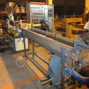 PP PE mastbatch twin screw extruder machine/granulation machine/ pelletizing machine Manufactures