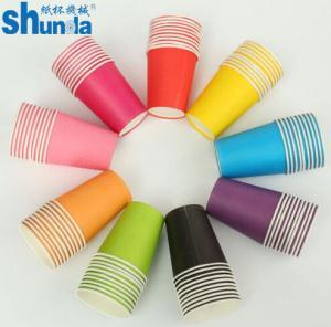 China PE Coated Juice / Coffee Paper Cup Fan Sheet Single / Double on sale