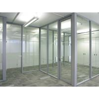 Elegant Soundproof Modern Office Partitions Customizable Size 3000mm Height Manufactures