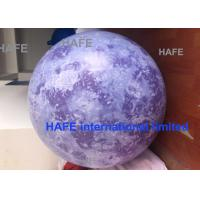 China 4M Gaint Moon Balloon Inflatable Earth Inflatable Helium Night Decoration on sale
