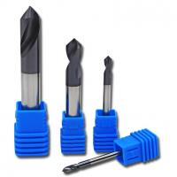 Alloy Coating Tungsten Steel Tool Aluminum Cnc Machining / Chamfer Milling Cutter Manufactures